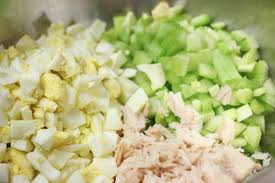 pasta salad with tuna tuna pasta salad with celery and egg the little kitchen