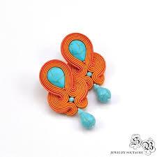 soutache earrings best 25 soutache earrings ideas on soutache soutache