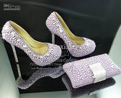 wedding shoes wide width purple high heel platform designer wedding shoes with matching