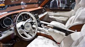 new bentley truck interior bentley suv gets production green light autoevolution