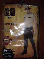 Rick Walking Dead Halloween Costume Rick Grimes Costume Ebay