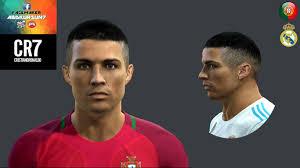 pes 2013 hairstyle pes 2013 cristiano ronaldo new face hair style 2017 18 minosta4u