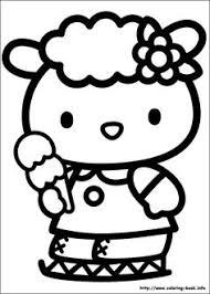kitty christmas coloring pages free kitty christmas