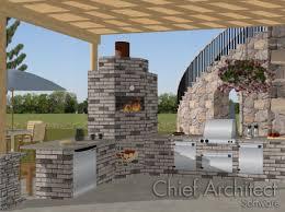 Program To Design Kitchen by Creating An Outdoor Kitchen