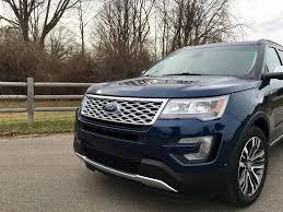 Ford Explorer Platinum - the 2016 ford explorer platinum edition bridges the gap of