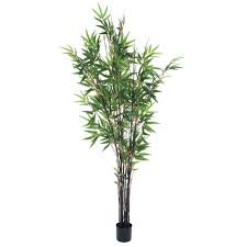 romano 5 ft japanese bamboo artificial tree 50 10015 r the home depot