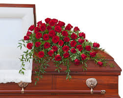 floral spray 50 roses casket spray tmf 732f in bensalem pa flower girl florist