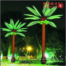 palm tree solar lights outdoor artificial palm trees yannickmyrtil com