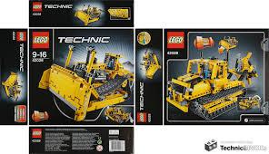 technicbricks tbs techreview 34 u2013 42028 bulldozer