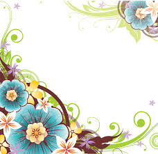 Clip Art Flowers Border - flowers borders download png clip art library