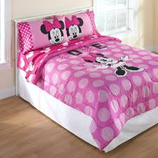 girls full bedding sets bed minnie mouse bedding set home design ideas