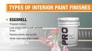 what is the best paint finish to use on kitchen cabinets types of paint finishes the home depot