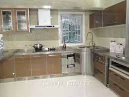 stainless steel kitchen cabinet doors uk glass metal kitchen cabinet doors stainless steel kitchen designs stainless steel kitchen