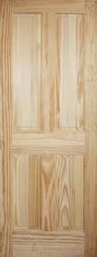 Interior 4 Panel Doors Discount 6 8 4 Panel Pine Interior Wood Door Slab