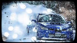 subaru winter subaru wrx sti winter snow drift turbo sound compilation part 2