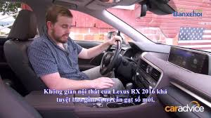 ban lexus rx200t đánh giá xe lexus rx 200t chiếc suv sang trọng với cảm giác lái