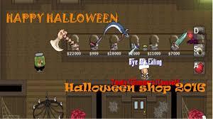 graal online era new halloween shop 2016 youtube