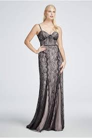 All Black Prom Dress Long Cowl Neck Dress David U0027s Bridal