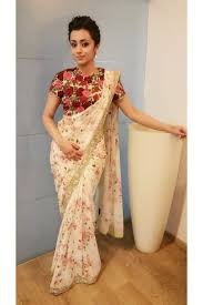 Floral Prints by Sarees Floral Print Saree