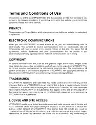 Terms And Conditions Of Use by Sample Terms And Conditions Hashdoc