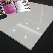 white shiny floor tile glossy white polished porcelain tile