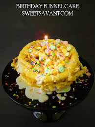 birthday cake funnel cake recipe sweet savant