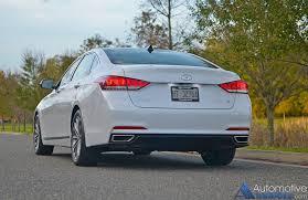 hyundai genesis back in our garage 2016 hyundai genesis rwd 3 8 sedan