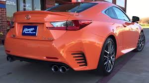 lexus performance parts and accessories 2015 lexus rc 350 f sport custom dual system by kinney u0027s youtube