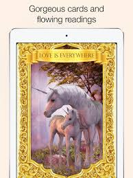 wildlife treasury cards ask the unicorns oracle cards on the app store