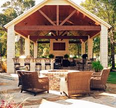 modern home interior design outdoor kitchens and fireplaces with
