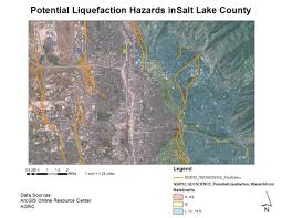 San Francisco Liquefaction Map by Earthquake Hazards Along The Wasatch Fault Michael Haskins