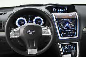 subaru suv concept interior subaru xv review and photos