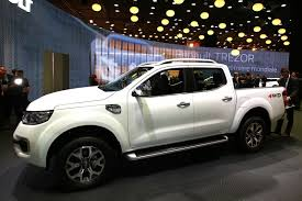renault paris new alaskan pickup brings ruggedness to renault u0027s paris stand