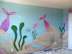 Ocean Themed Kids Room by Under The Ocean Whole Kids Room Murals Awesome Kids Room Murals