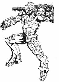 zombie iron man coloring pages sketch coloring page