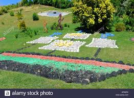 colorful designs landscape basseterre st kitts caribbean island