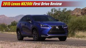 lexus truck 2015 nx 2015 lexus nx200t f sport first drive review youtube