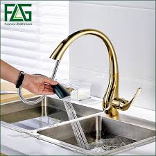 kitchen faucets free free shipping pull out gold kitchen faucets and cold