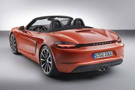 porsche price 2016 2016 porsche boxster revealed smaller engines and bigger price