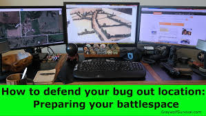 bug out vehicle ideas how to defend your bug out in location preparing your battlespace