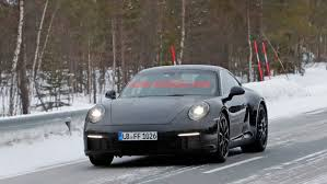 porsche 911 front 2019 porsche 911 spy shots photo gallery autoblog
