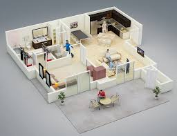 Small Open Floor Plans With Pictures 25 One Bedroom House Apartment Plans