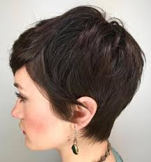 how to cut pixie cuts for thick hair best 25 brunette pixie ideas on pinterest brunette pixie cut