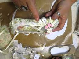 elegant shabby chic ballerina shoe jennings644 youtube