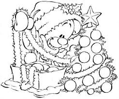 disney cartoons coloring pages christmas coloring pages