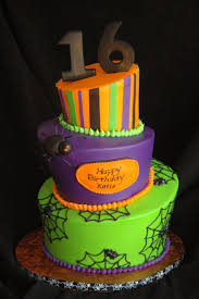 Halloween Birthday Party Cakes by 7 Best Halloween Bday Cakes Images On Pinterest 16th Birthday