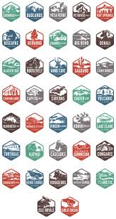 National Parks In Utah Map by National Parks Could Make Great Stickers For A National Parks Map