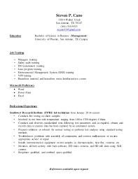 Lead Pharmacy Technician Resume Resume Steve Cano 2016