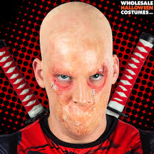 Halloween Liquid Latex Makeup by Deadpool Makeup Tutorial Wholesale Halloween Costumes Blog