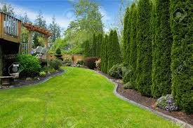 garden design garden design with fenced backyard with landscape
